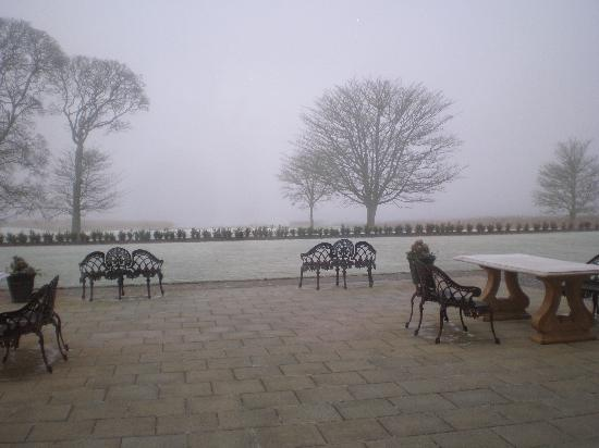 Lough Erne Resort: Veiw From Garden Room On A Cold & Frosty Dec Morning