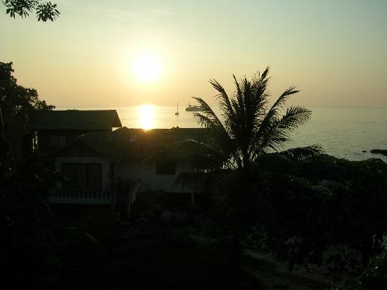 Koh Tao, Thailand: coucher de soleil  sur kotao