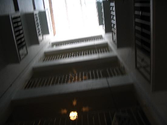 Hotel Belmar: inside balconey