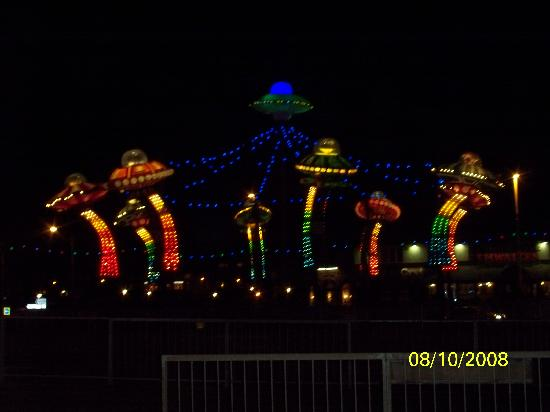 illuminations time is definately a must see and so is the hounddog hotel
