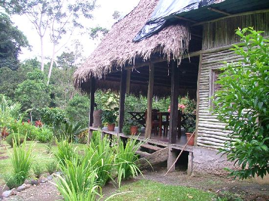 Rio Nuevo Lodge: Main lodge