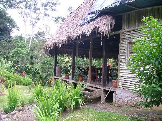 Rio Nuevo Lodge: Main lodge
