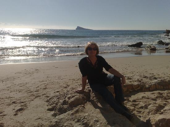 Hotel Don Pancho : On the beach Jan 2nd Benidorm