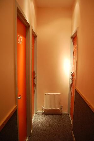 easyHotel Paddington London: le couloir