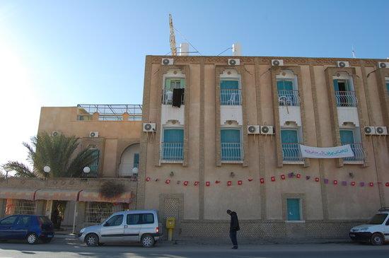 Metlaoui, Tunisie : façade