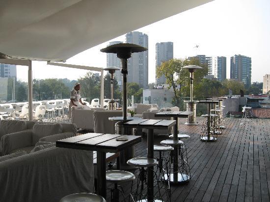 Hotel Habita: The terrace