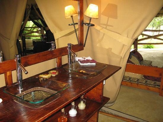 Mara Timbo Camp: Badezimmer