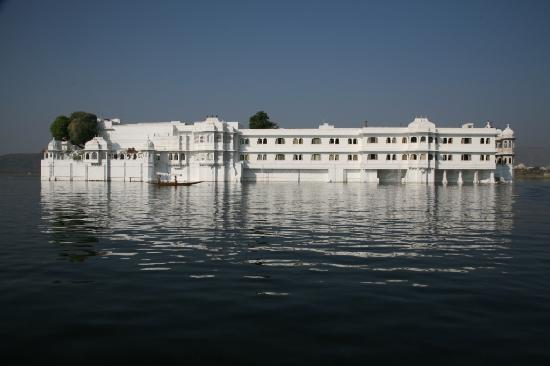 Taj Lake Palace Udaipur: The hotel