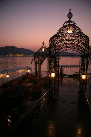 Taj Lake Palace Udaipur: The arrival dock