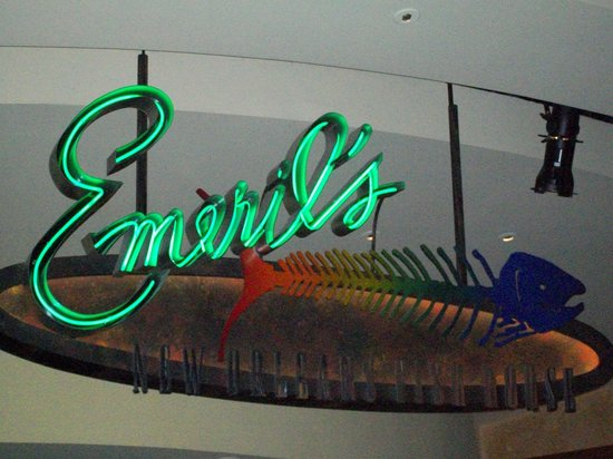 Emeril's New Orleans Fish House : sign