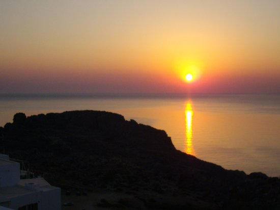 Lindos, Hellas: SUNRISE 2 ST PAULS BAY