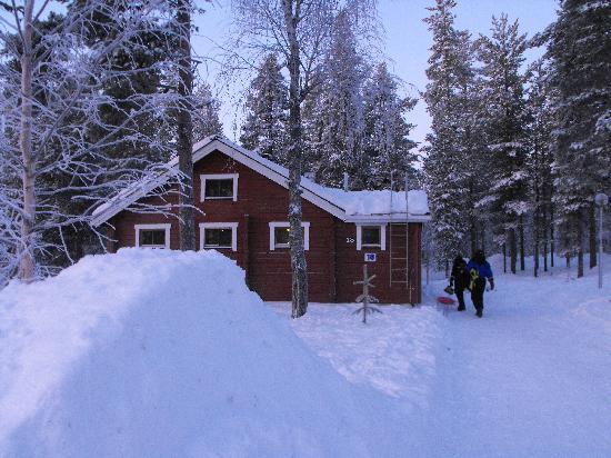 View foto hotel jeris muonio tripadvisor for Stili di log cabin