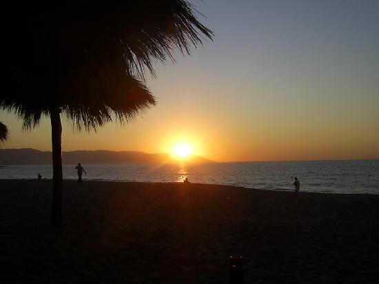 Tropicana Hotel: Le coucher du soleil