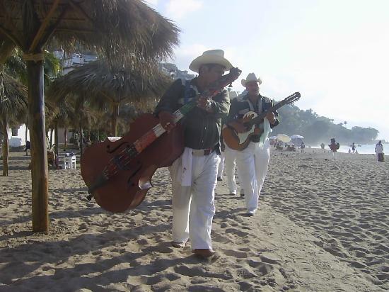 Tropicana Hotel: Musiciens de plages