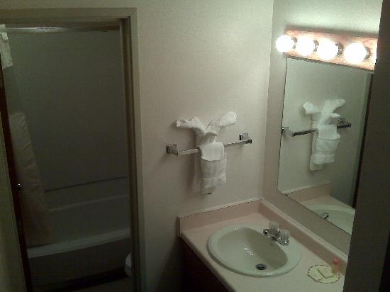 Days Inn Silverthorne: bath/sink area