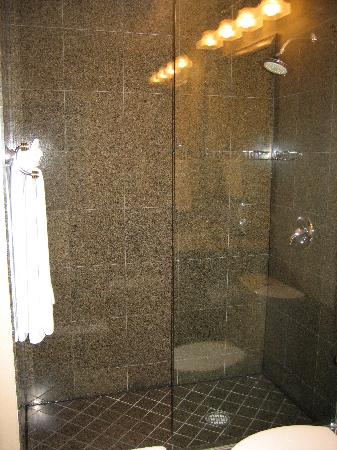 Nice shower stall - Picture of Mosaic Hotel Beverly Hills, Beverly ...