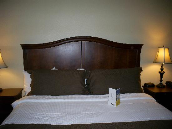 Best Western Plus Coach House: King Size bed - wonderful