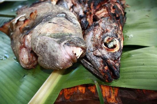 El Nido, Philippines: Fish is happy to be grilled