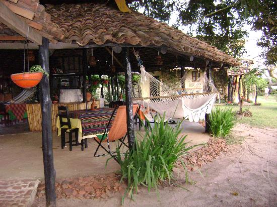 Pedasi, Panamá: dinning and resting area