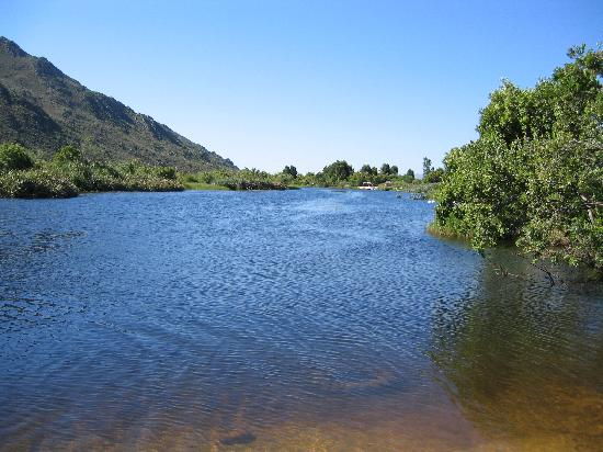 Wolfkop Nature Reserve: View of river from camp site