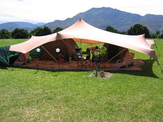 Wolfkop Nature Reserve: Tented accommodation
