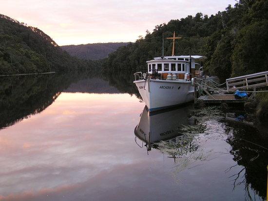 Zeehan, ออสเตรเลีย: Arcadia II on the Pieman River