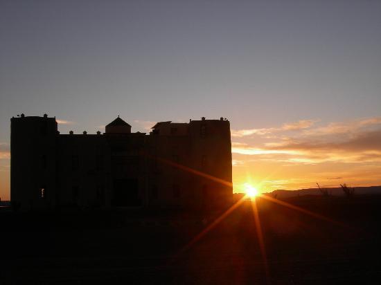 Le Chevalier Solitaire: tramonto sullo Chevalier