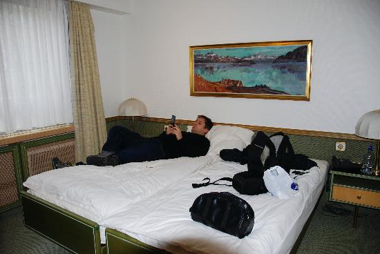 Arlette Am Hauptbanhof Hotel: The bedroom.