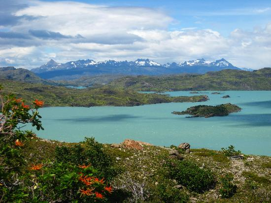Torres del Paine National Park: One of many beautiful lakes