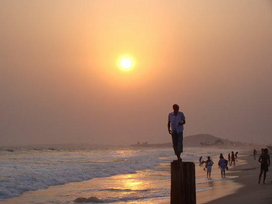Accra, Ghana : Beautiful Bojo Beach