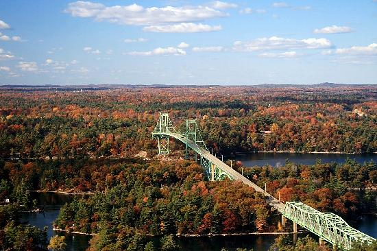 1000 Islands Tower : View #1 with Thousand Islands Bridge