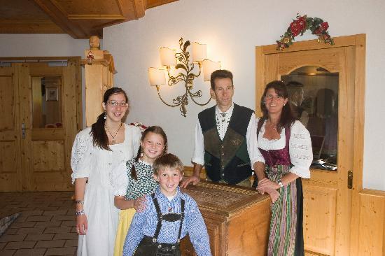 Hotel Aurora: Famiglia Rosa, proprietari dell'Albergo Aurora