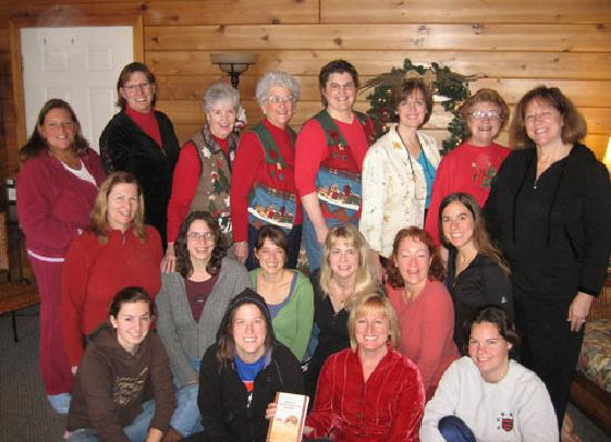 Mayville Inn: Women's Book Club meets in the sun room