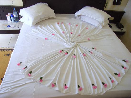so sch n war das bett jeden tag picture of hotel bel air hammamet tripadvisor. Black Bedroom Furniture Sets. Home Design Ideas