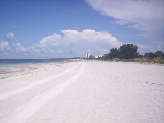 Longboat Key, Flórida: View to the north