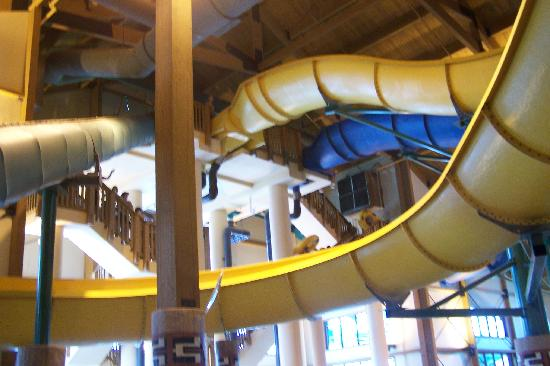 Great Wolf Lodge: tube slides