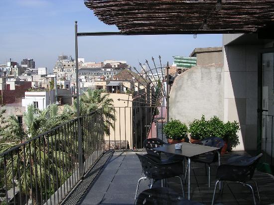 Casa Camper Hotel Barcelona: terrasse