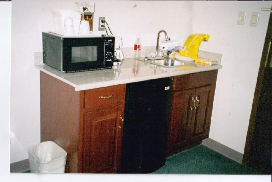 Ramada Pottsville: Kitchen area