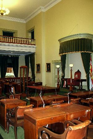 Province House National Historic Site of Canada: Parliamentary Chamber