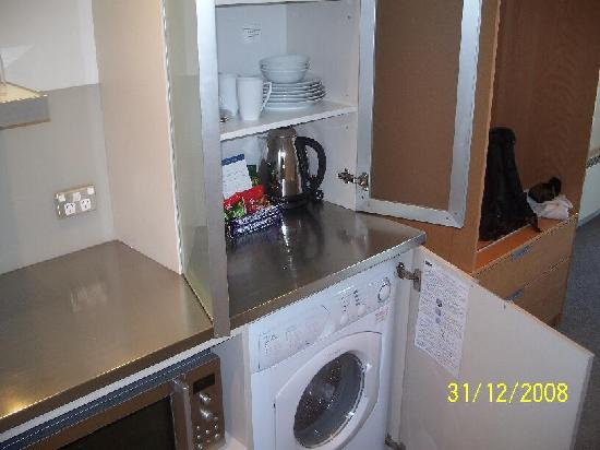 Bluestone on George : concealed washer