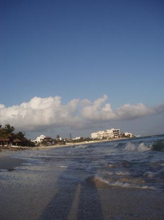 Playa Caribe: View of Half Moon Bay from condo