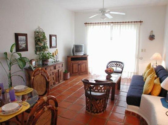 Palma Xiat Condo - Playa del Carmen: living room