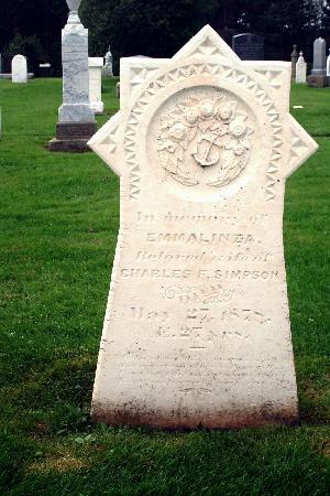 Cavendish Cemetery : Emmalinza