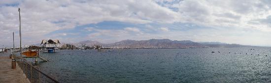 U Suites Eilat: Panorama depuis la chambre