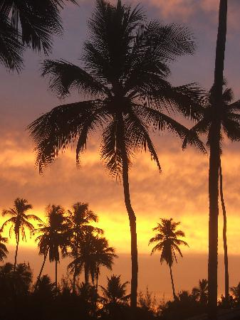 Xales de Maracaipe Pousada: Sunset
