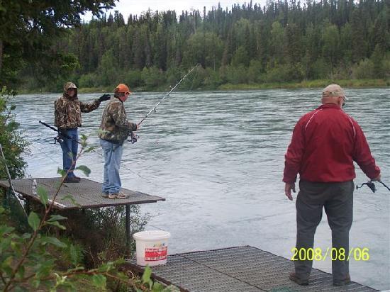 Alaska Funny Moose: Fishing on the Kenai at Funny Moose Lodge