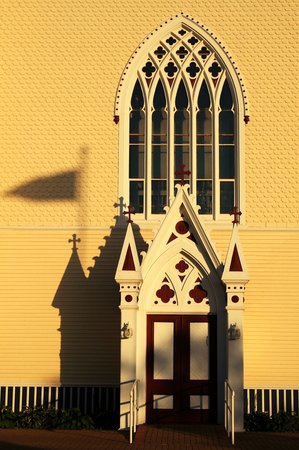 Prince Edward Island, Canada: Gothic Doorway