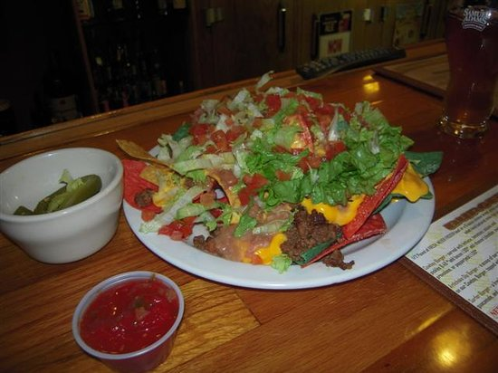 The Library Sports Grille & Brewery: Library Nachos