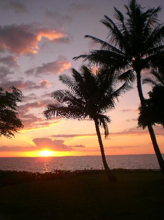 Haleakala Shores Condos: Sunset
