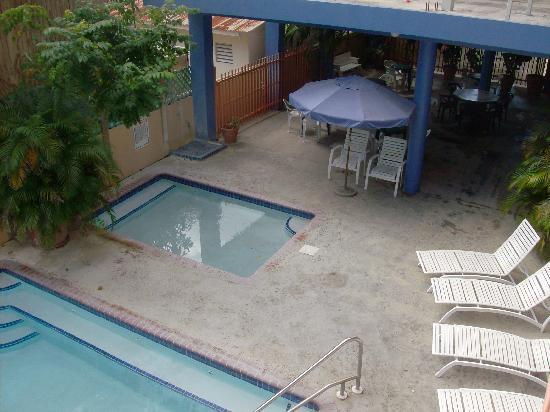 Boqueron, Puerto Rico: Área de las piscinas